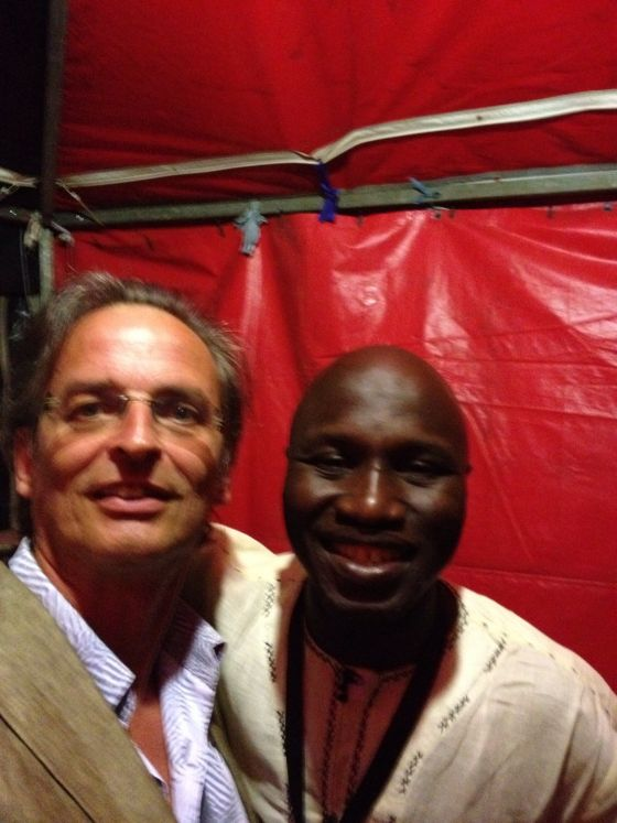 Djibi Diabate und Mike Herting